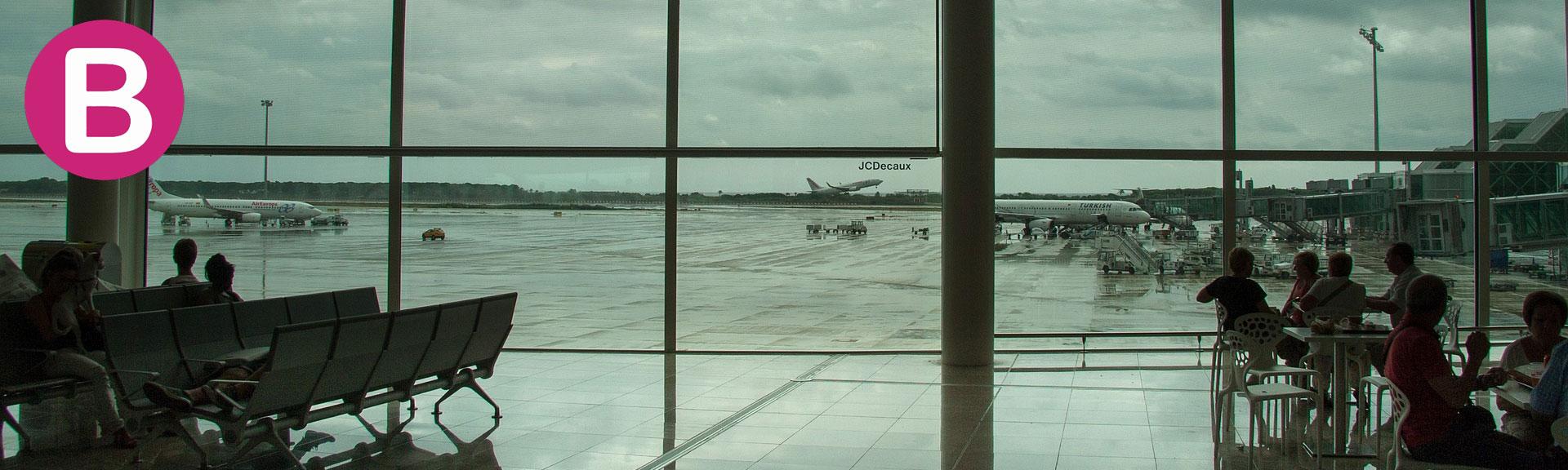 Recogida Taxi en el aeropuerto de Barcelona